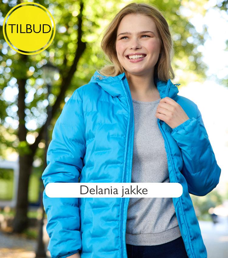 Delania vattert jakke med hette   Rask levering   Kjøp på Zavanna.no